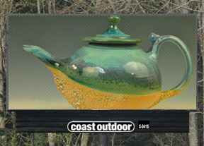 Teapot by JoVic Pottery - Ladysmith, BC Artists