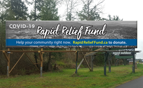Click to donate and support Victoria Foundation Rapid Relief Fund